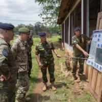 Reportage à Bangui 3. EUTM RCA, chef d'orchestre de la reconstruction de la structure de défense