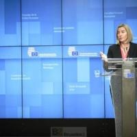 Face aux Américains, Federica Mogherini tient la barre, ferme