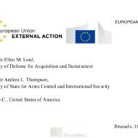 Les USA bénéficient largement du marché européen. La PESCO et le FEDef renforcent l'OTAN. La lettre de réponse des Européens à Washington