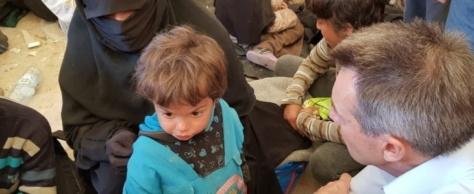 Idlib, situation extrêmement difficile. Syrie, les enfants de combattants étrangers à rapatrier d'urgence (entretien avec Peter Maurer, CICR)